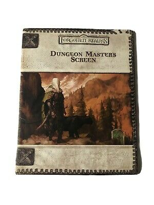Forgotten Realms Dungeon Masters Screen • 25£