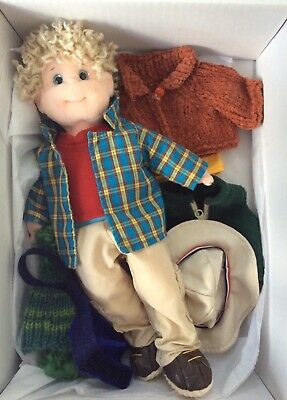 Ty Beanie Bopper Doll - Rugged Rusty - With Extra Clothes - Boxed + Ready To Go! • 10£