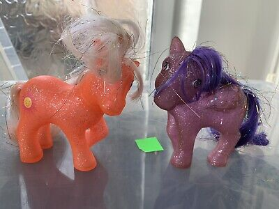 G1 My Little Pony Sparkle Ponies Sunspot And Twinkler • 9.99£