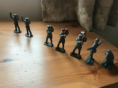7 Vintage Lone Star German Storm Troopers. 4 Poses. • 24.99£