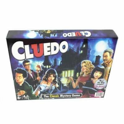 UK Cluedo The Classic Mystery Board Game NEW • 13.59£