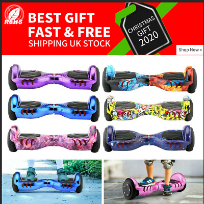 BlackFriday Bluetooth 6.5 Electric Self Balance Scooter Hover Board Flash Wheels • 129.99£