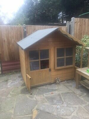 Wooden Playhouse Used • 18.60£