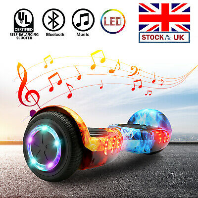 6.5inch Bluetooth Hover Board Self Balancing ScooterLED Flash Wheels Adult Kids • 119.99£