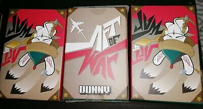 3 X Dunny ART OF WAR New With Box Kidrobot Free Postage  • 19.99£