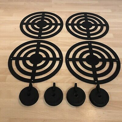 Mud Kitchen Cooker Rings And Knobs In Black • 15£