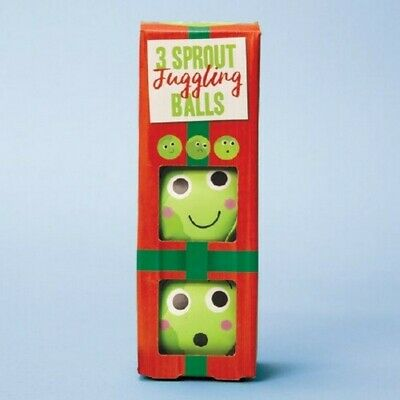 Sprout Juggling Balls Christmas Juggle Toy Game Fun Secret Santa Stocking Filler • 8.95£