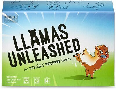 Llamas Unleashed Card Game Brand New Sealed In Stock  • 13.49£