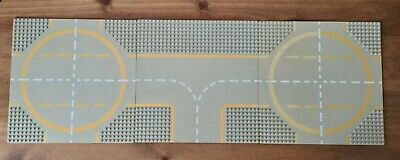 Vintage Lego Classic Space 3x Baseplates 32x32 Landing Pads; Runway • 23£
