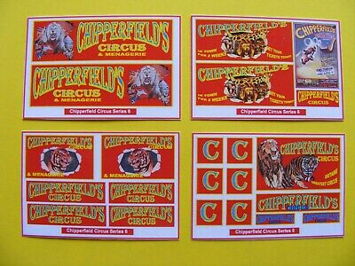 Chipperfield Circus Stickers – Series 6 • 2.50£