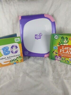 Leapfrog Leapstart 3D Leappad In Purple With Book • 29.99£