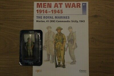 Del Prado Men At War Magazine And Figure No 61 • 3.70£