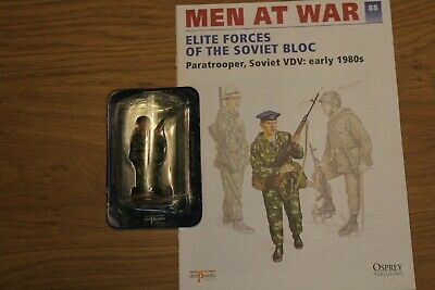 Del Prado Men At War Magazine And Figure No 88 • 3.50£