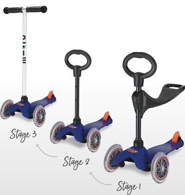 Mini Micro Deluxe Scooter 3 In 1 • 0.99£
