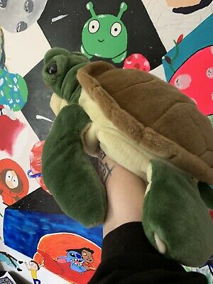 Soft Toy Puppet Turtle Made By Wild Republic • 3£