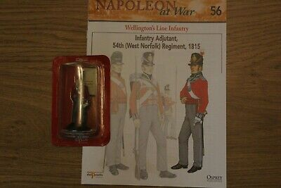 Del Prado Napoleon At War Magazine And Figure No 56 • 3.50£