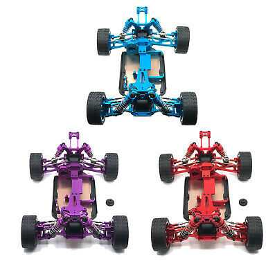 Metal Upgrade Full Frame Accessories For 1/14 Wltoys 144001 RC Car • 140.02£