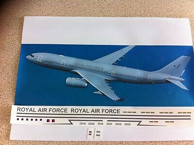 Airbus A330 RAF VOYAGER Tanker Decals 1:144 Scale • 10£