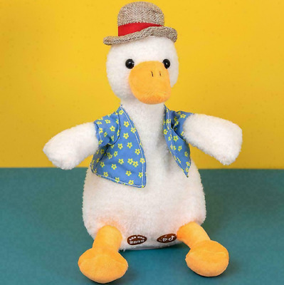 Talking Duck Funny Plush Toy Repeats What You Say Mimicry Toy  • 10.99£