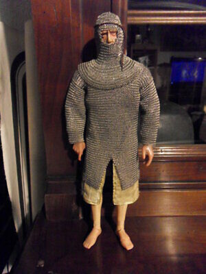 Medieval Knight Chainmail + Camail 1/6 - Cotte De Mailles Chevalier + Camail • 178.14£