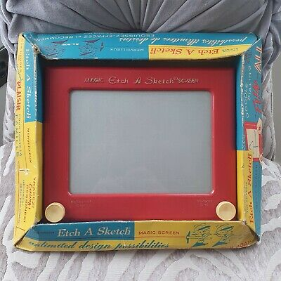 Vintage French Etch A Sketch In Original Box • 45£