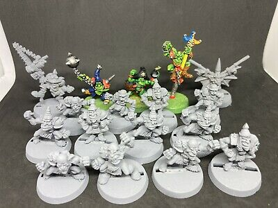 Blood Bowl 3rd Edition Metal Goblin Team Plus Special Weapons  • 125£