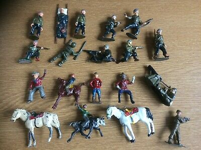 Charbens Lead/metal Figures X 19.  Can Be Separated • 80£
