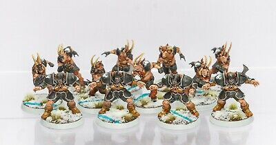 The Doom Lords - Chaos Chosen Blood Bowl Team Well Painted Warhammer • 90£