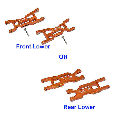 Aluminum Front/Rear Lower Arms For LOSI 1/18 Mini-T 2.0 2WD Stadium Truck RTR • 15.10£