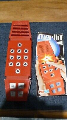 Merlin Electronic Game By Parker Brothers 1978 • 10£