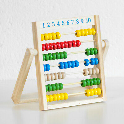 Vintage Abacus Educational Wooden 70 Bead Maths Number Counting Learning Toy  • 8.99£