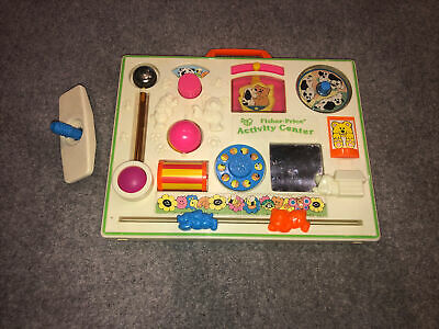 Baby Vintage Fisher Price Activity Center In Good Condition • 17.99£