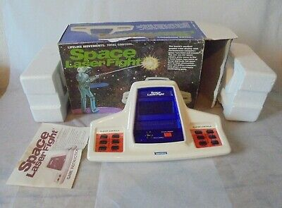 Vintage Bambino Space Laser Fight Electronic Game • 70£