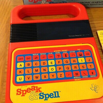 Vintage Speak And Spell Boxed..... • 74.99£