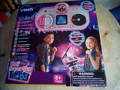 Vtech Kidi Super Star DJ Kids Girls Boys Sing Music Karaoke And DJ Mixer • 20£