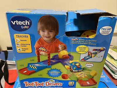 Toot Toot Driver Press And Go Launcher Deluxe • 2.50£