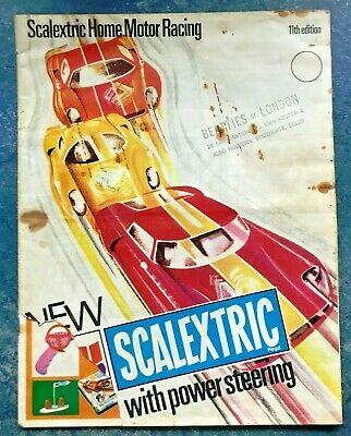 SCALEXTRIC CATALOGUE 11th Edition 1960's (Scalextric / Fly / SCX / Carrera) • 11.99£