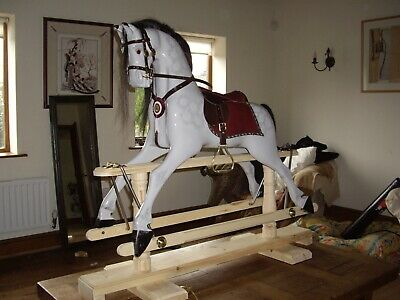 Handmade Wooden Rocking Horse • 1,300£