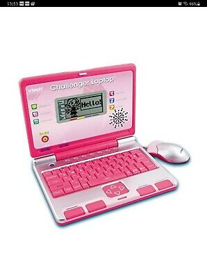 VTech Challenger Laptop (Pink) With Manual Kids Toy  • 13.50£