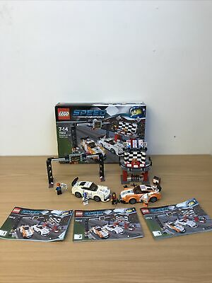 Lego Speed Champions Porsche 911 GT (set 75912) Boxed ALMOST COMPLETE • 39.99£