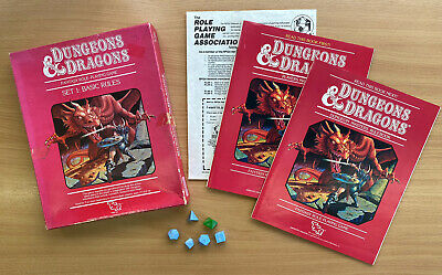 Dungeons And Dragons - Fantasy Role-Playing Game. Set 1: Basic Rules • 12.99£