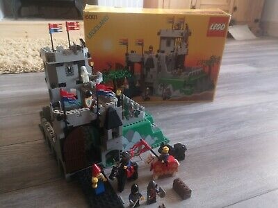 Lego Castle 6081 Mountain Fortress Boxed Great Condition Must See • 225£