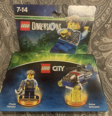 Lego Dimensions Fun Pack 71266, Chase McCain, Police Helicopter • 20£