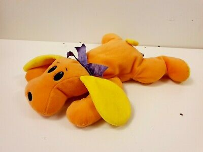 Ty The Pillow Pals Collection Woof The Dog Plush Retired Rare 1998 • 8£