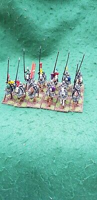 11 X 28mm Late Medieval Knights - Built, Painted And Based • 20£
