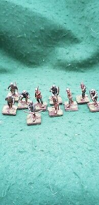 10 X 28mm Medieval Archers - Built, Painted And Based • 10£