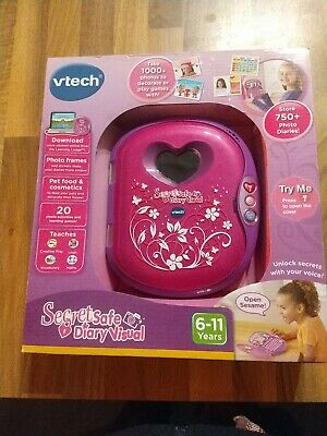 VTech Secret Safe Diary Visual - New Unopened Box • 11.40£