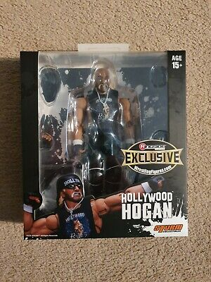 Hollywood Hulk Hogan Storm Collectibles Ringside Exclusive Figure • 199.99£