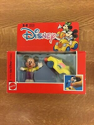 Mattel Die Cast Disney Mickey Mouse And Car • 12.50£
