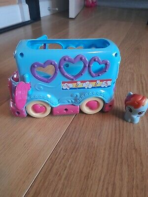 Playskool My Little Pony Blue Friendship Bus Collectable • 2.60£